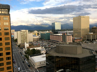 From the Captain Cook hotel in Anchorage
